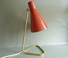 Stylische - Lampe Stil Novo 50er Gino Sarfatti von MaDütt auf DaWanda.com