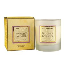 Provence Lavender Candle by Wax Lyrical Scented Candles, Candle Jars, Provence Lavender, Wax Lyrical, Own Home, Diffuser, Oriental, Lyrics, Woods