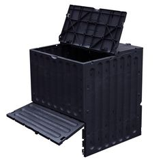 Compost Eco-King - 600 liter (zwart) - Compostbakken - De Wiltfang