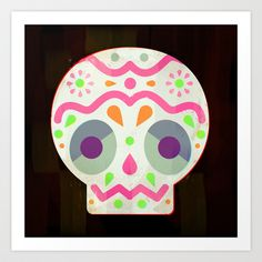 Calaverita Art Print by carlos lerma - $15.00