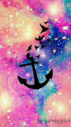 Anchor galaxy wallpaper I created for the app CocoPPa