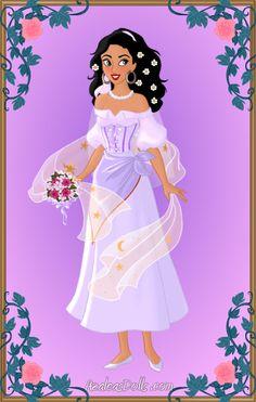 Blushing Bride Esmeralda by LadyIlona1984 on deviantART