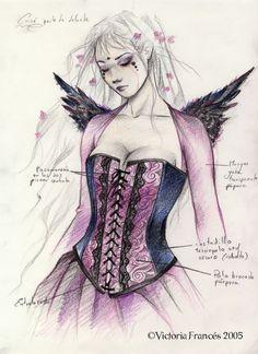 Boceto Angel Wings II