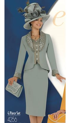 Church Dress Professional Or Church Attire. Professional Or Church Attire. Church Suits And Hats, Women Church Suits, Church Attire, Church Dresses, Church Outfits, Suits For Women, African Fashion Dresses, African Dress, Estilo Fashion