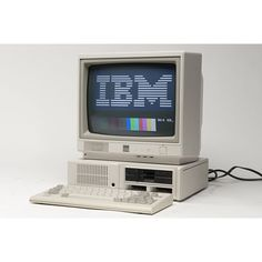 The IBM PCjr, released in 1984. #IBM #IBMPC #the80s