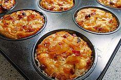 Zwiebelkuchen - Muffins 1