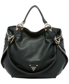 GUESS Dylan Collection ava in black, brown, pewter, and cognac