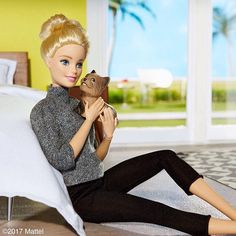 Ms. Honey, I'm home! I'll never tire of your warmest welcomes! #barbie #barbiestyle
