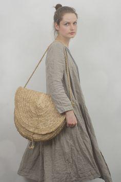 Wrap Dress / Jacket in Natural Linen by KnockKnockLinen on Etsy