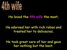 4th wife