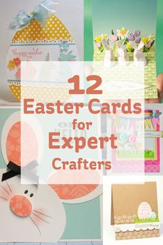 Now's the perfect time to get making, if your planning on doing your own Easter cards this year, and we've found 12 great Easter cards for expert craters out there to get those creative juices flowing!