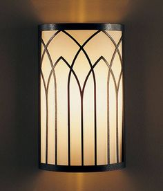 Maybe... Hubbardton Forge 20-5651 Gothic Arches ADA Wall Sconce - Lighting Universe