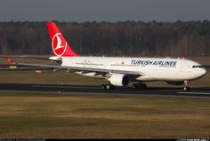 Airbus A330-203, Turkish Airlines, TC-JNE, cn 774, first flight 11.7.2006, Turkish Airlines delivered 28.7.2006. His last flight 12.4.2016, flight Barcelona - Istanbul. Foto: Berlin, Germany, 8.12.2015.