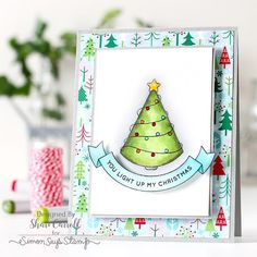 Simon Says Stamp Card Kit of The Month DECEMBER 2016 MERRY AND BRIGHT ck1216 zoom image