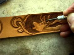 Leather tooling - some examples - Tvorba zdobených řemenů