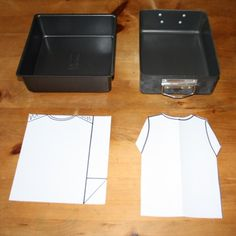 Rectanglular or square tins