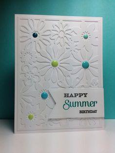 Flower Fusion Die-namics, MFT, by beesmom - Cards and Paper Crafts at Splitcoaststampers