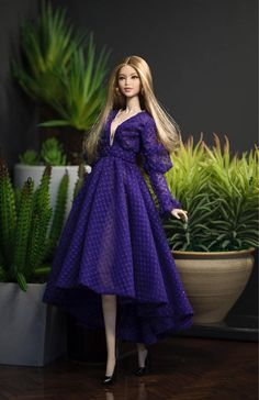 Dress for fashion royalty Poppy Parker Silkstone Barbie by Rimdoll