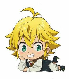 Dibujos Anime Chibi, Cute Anime Chibi, Kawaii Chibi, Anime Kawaii, Anime Love, Otaku Anime, Anime Naruto, Manga Anime, Seven Deadly Sins Anime