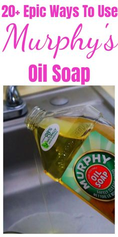 tips and tricks for Epic Murphy& oil soap - 20 tips and tricks for epic . - tips and tricks for Epic Murphys oil soap – 20 tips and tricks for epic Murphys oil soaps ift - Diy Home Cleaning, Household Cleaning Tips, Homemade Cleaning Products, Household Cleaners, House Cleaning Tips, Natural Cleaning Products, Deep Cleaning, Spring Cleaning, Natural Cleaning Solutions