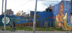 graffiti doves