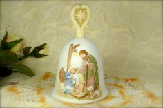 Lovely Christmas Nativity Scene Collectible by TinyandBeautiful