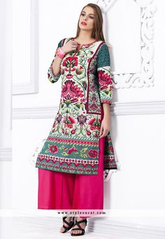 Mesmerizing Multi Color Printed Kurti
