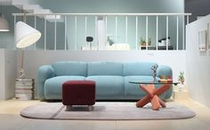 Swell Sofa 3 Seater, by Normann Copenhagen #fat #sofa awesomeness. Designed by Jonas Wagell