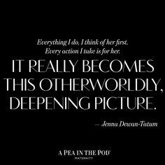 Momspiration Monday // Jenna Dewan Tatum | Celebrity quotes about motherhood