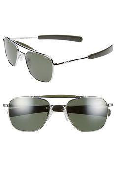 a3fa9bf17c00f Randolph Engineering  Aviator II  55mm Polarized Sunglasses