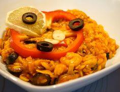 Pij soki wyciskane: Paella pomidorowa