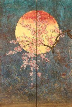 Kazuko Shiihashi - 60x90xm - Galerie Matthieu Dubuc http://www.maisondesmuses.com/back/kazuko-shiihashi