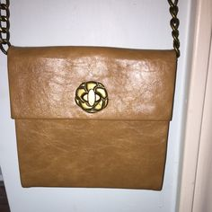 BRAND NEW Tan Crossbody Bag Brand New- no scratches or stains. Forever 21 Bags Crossbody Bags