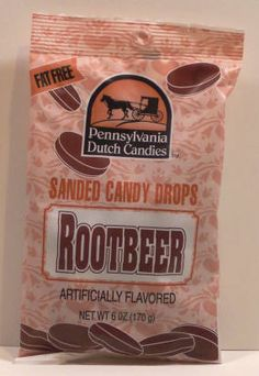 Rootbeer Flavored Pennsylvania Dutch Hard Candy