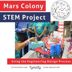 Designing a Mars Colony is real multidisciplinary project. Students will need to consider questions like: How will colonists get food? What is the Martian environment like? Will our colony have a government? How do we prevent boredom?   Students will apply scientific concepts, math skills, critical thinking, research, and engineering design to plan a long term habitat on Mars. This creative and in-depth project is a great activity for your classroom or afterschool program!