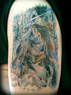 Lord of the Ring inspired tattoo
