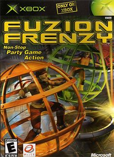 Fuzion Frenzy on the original XBOX.  Basically just a bunch of mini games. Good for those competitors.