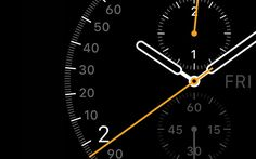Apple Watch GUI Design in Industrial Design