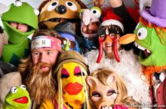 Muppet Photo Booth!