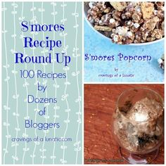 S'mores Recipe Round Up by Cravings of a Lunatic