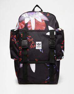 Adidas Originals Backpack in Lotus Print