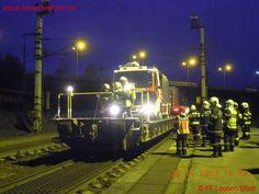 FF Leoben-Stadt: Brand Galgenbergtunnel #fire #feuerwehr #bahn #train #firefighters