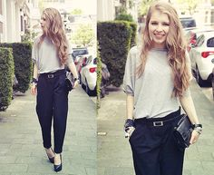 Simplicity at its best (by Rachella K.) http://lookbook.nu/look/3476517-Simplicity-at-its-best