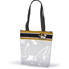 Missouri Tigers Clear Gameday Stadium Tote Bag Sports Tea…