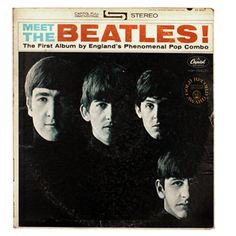 Meet The Beatles! John Lennon, George Harrison, Paul McCartney, and Ringo Starr Ringo Starr, George Harrison, Paul Mccartney, John Lennon, Lps, Beatles Mono, Beatles Bible, Beatles Lyrics, Beatles Guitar