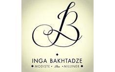LOGO 2013 / INGA BAKHTADZE Client : Inga Bakhtadze  Modiste Géorgienne installée à Paris.  ......................................  Création d'une lettrine/signature et matériels de communication.  Puisque cette modiste multi-facette utilise broderie et couture dans la confection de ces chapeaux, bibis et autres coiffures, nous avons imaginé une lettrine/signature « à broder » comme sur les linges d'antan.