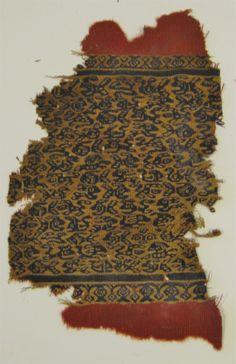 Coptic Egyptian Textile Fragment  CULTURE / REGION OF ORIGIN: Coptic / Byzantine Egypt  DATE: 4th – 7th Century CE  DIMENSIONS:  26 x 17 cm (10.23 in x 6.69 in)