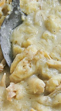Chicken and Dumplings make a delicious, comforting meal that your family will love. This southern chicken and dumplings recipe is a must-make. Chicken And Dumplings Southern, Creamy Chicken And Dumplings, Chicken And Dumplins, Southern Chicken, Soup Recipes, Chicken Recipes, Dinner Recipes, Cooking Recipes, Restaurant