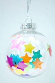 Christmas baubles diy with the family christmas baubles image result for diy confetti baubles solutioingenieria Images