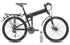 """2016 Montague Paratrooper Pro Folding Mountain Bike 20"""" Frame, 27 Speeds with Safecastle Stainless Steel Water Bottle ... - http://www.bicyclestoredirect.com/2016-montague-paratrooper-pro-folding-mountain-bike-20-frame-27-speeds-with-safecastle-stainless-steel-water-bottle/"""